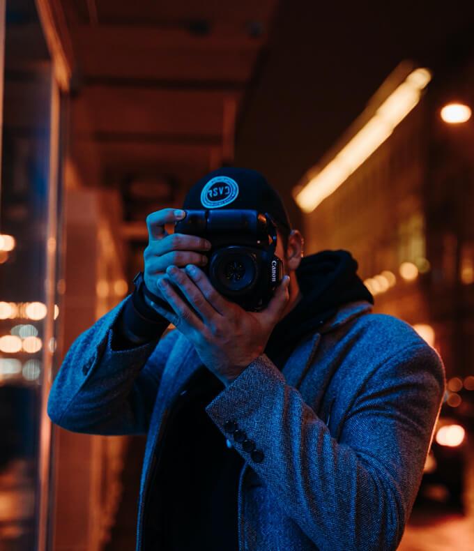 O mnie Dawid Mitoraj Fotograf Fotografia Ślubna, Portretowa, Biznesowa